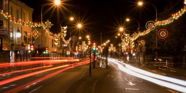 lighting-festival-on-golden-mile-road-in-leicester-england
