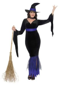 lovely-plus-size-witch-halloween-dress