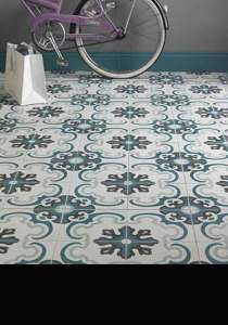 Moroccan Tiles   Patterned   Encaustic Cement Flooring UK Azrou Moroccan Tiles  85A
