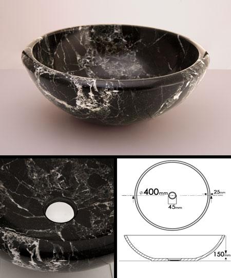 black marble sink 66f