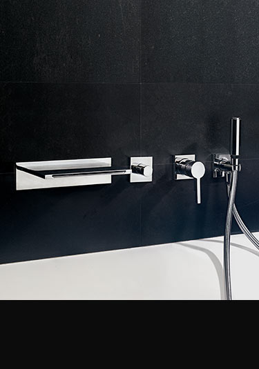 robinets de baignoire mitigeur mural