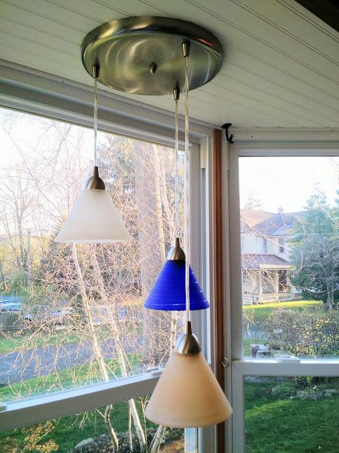 before: bay window light