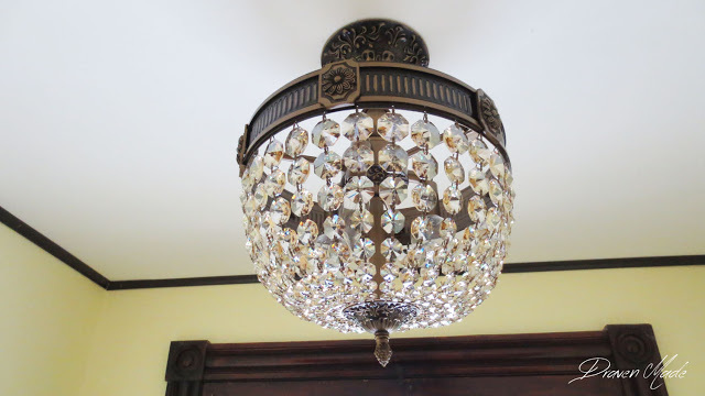 old house crystal chandelier