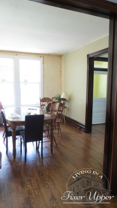 dining room before renovation