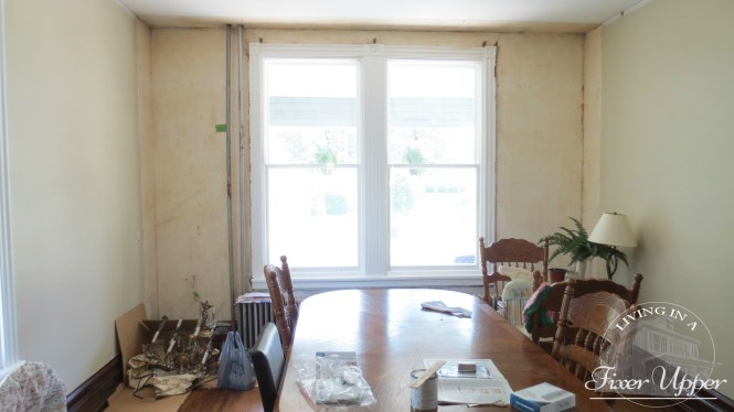 dining room double windows
