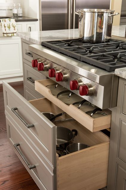 pots storage drawers
