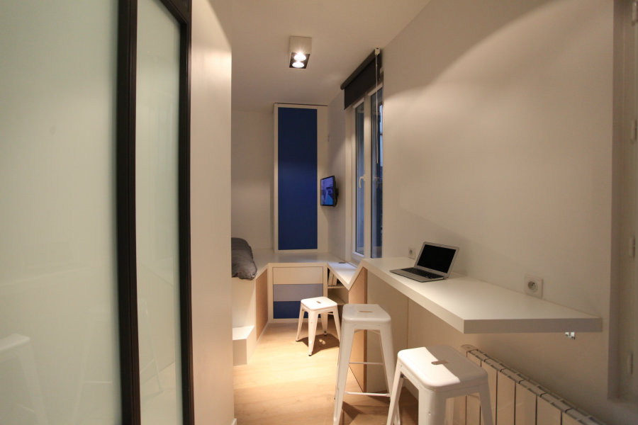 Beautiful Renovation Of Parisian Studio Apartment By Cyril Rheims Living In A Shoebox