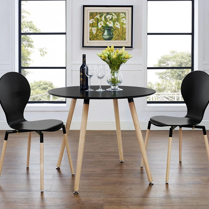 twenty dining tables that work great in small spaces - living in a