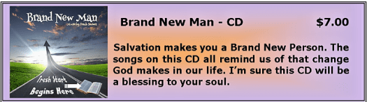 Brand New Man CD
