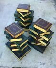 Antique Italian Stack of Books Wooden Coffee Table Base 17
