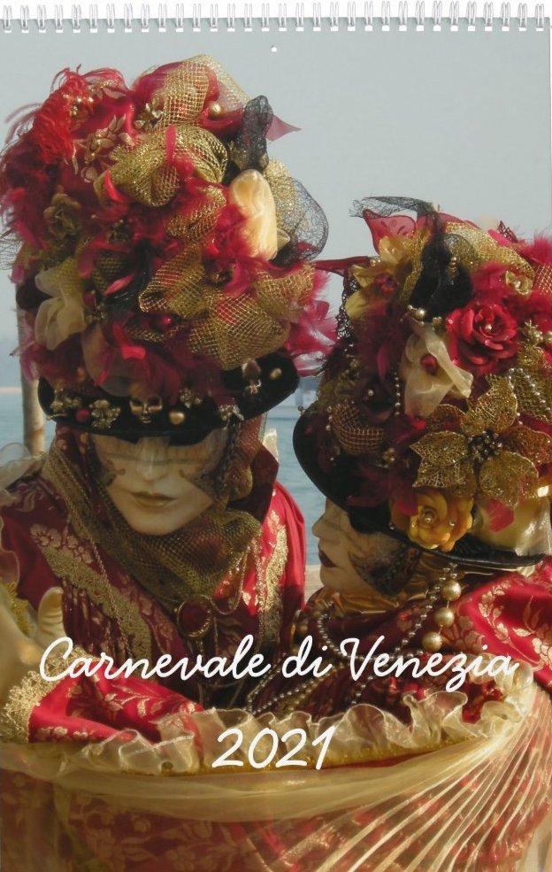 Venice Carnival Photo Calendar 2021