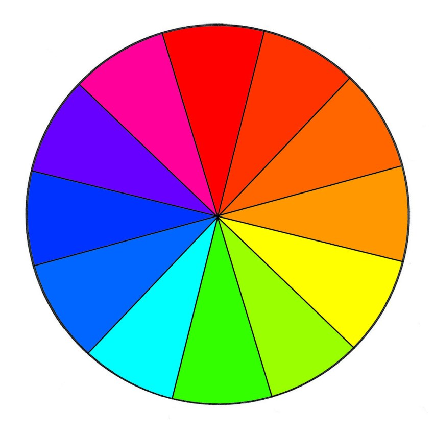 Color Wheel for Color Correcting