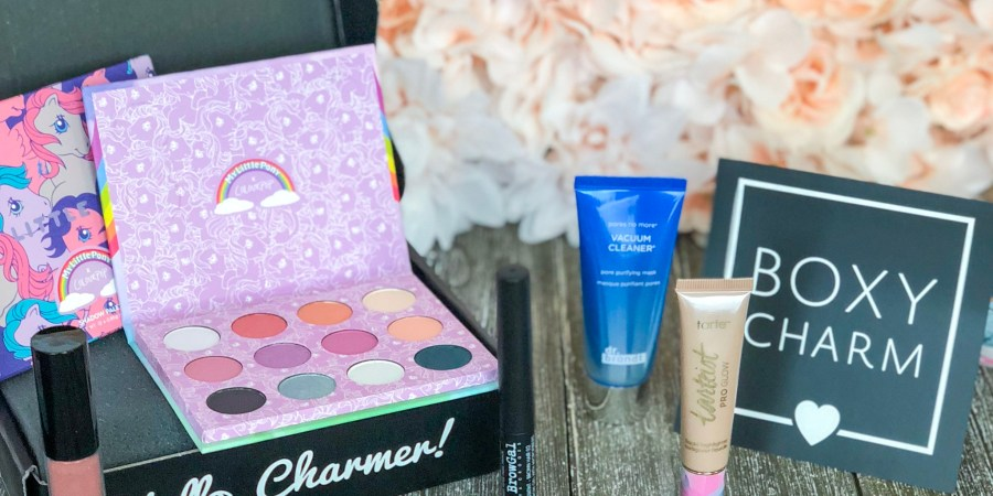 boxy charm makeup subscription april review living in sugar