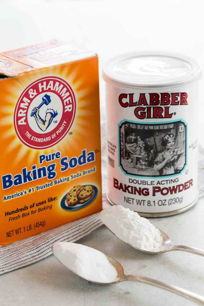 baking soda and baking powder