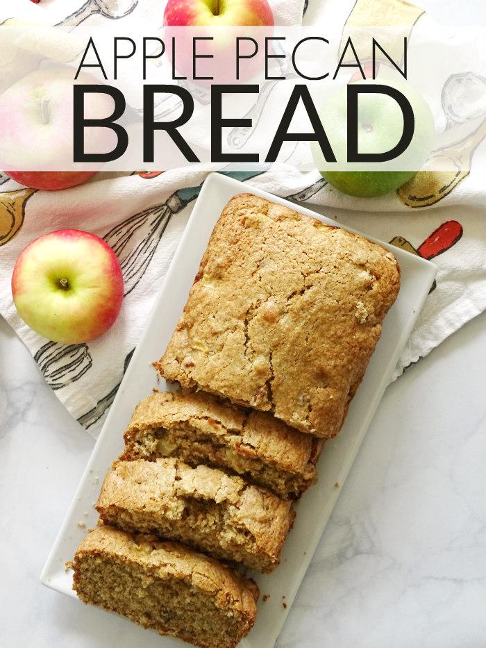 Apple Pecan Bread #MakersMixUp