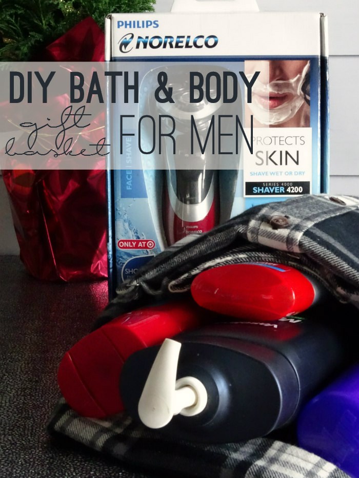 DIY Bath & Body Gift Basket for Men