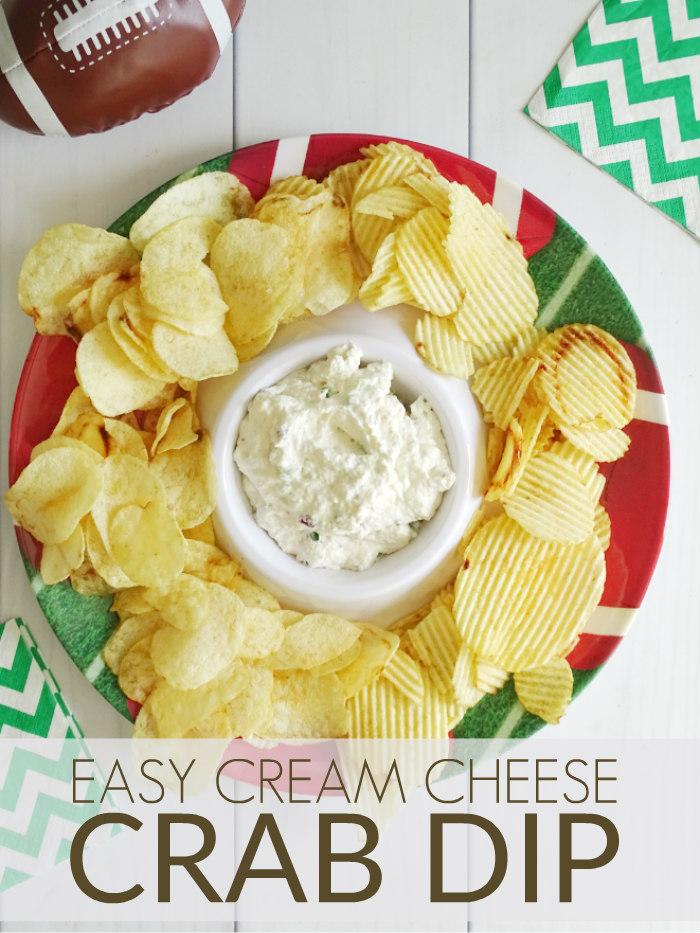 Easy Cream Cheese Crab Dip