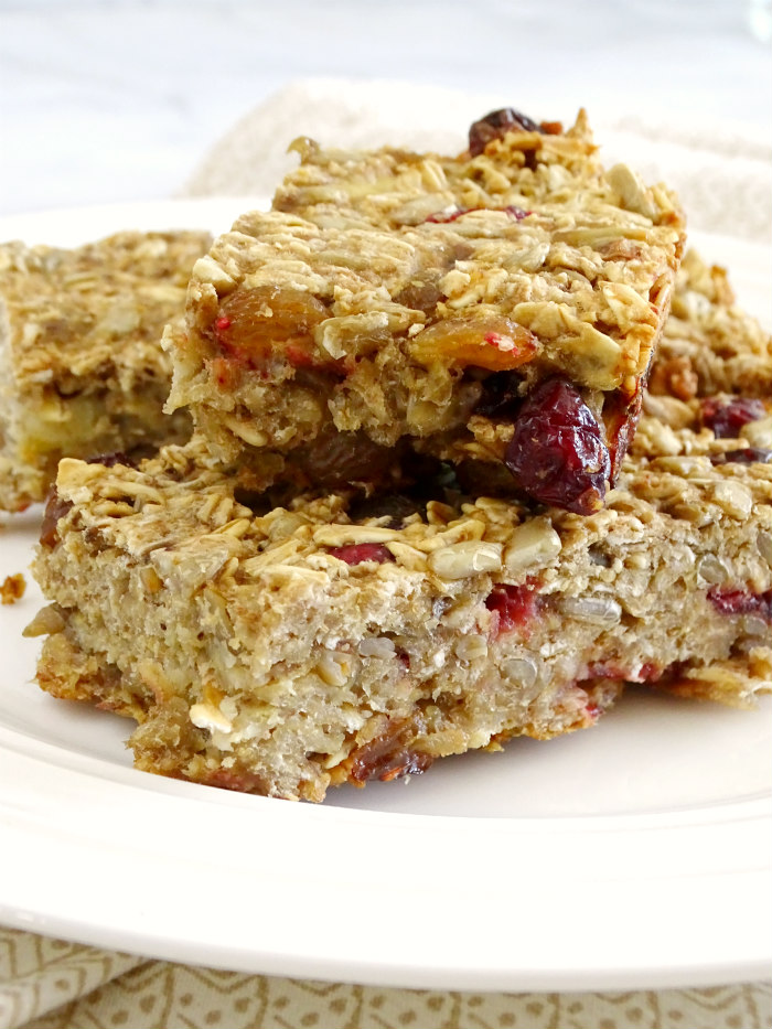healthy breakfast bars healthy oatmeal breakfast bars living la vida holoka 12683