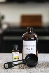 DIY disinfectant spray ingredients