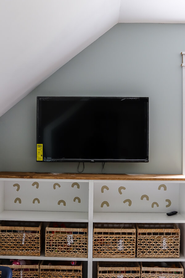 how to hide TV wires in wall