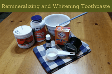 remineralizing and whitening toothpaste