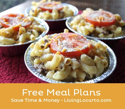 Free Meal Plans by Living Locurto