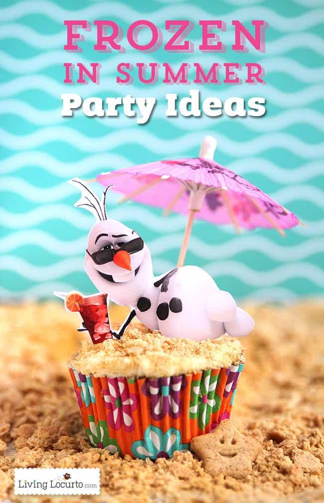 Frozen In Summer Birthday Party Ideas Disney S Olaf Finally Gets To Enjoy The Beach