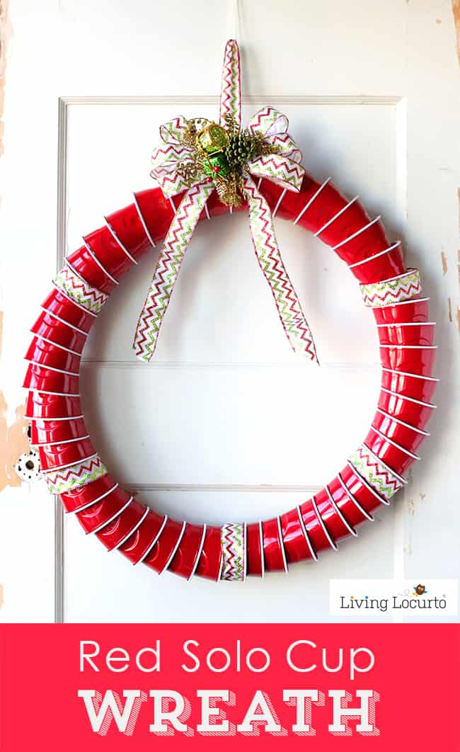 Red Solo Cup Christmas Wreath Living Locurto