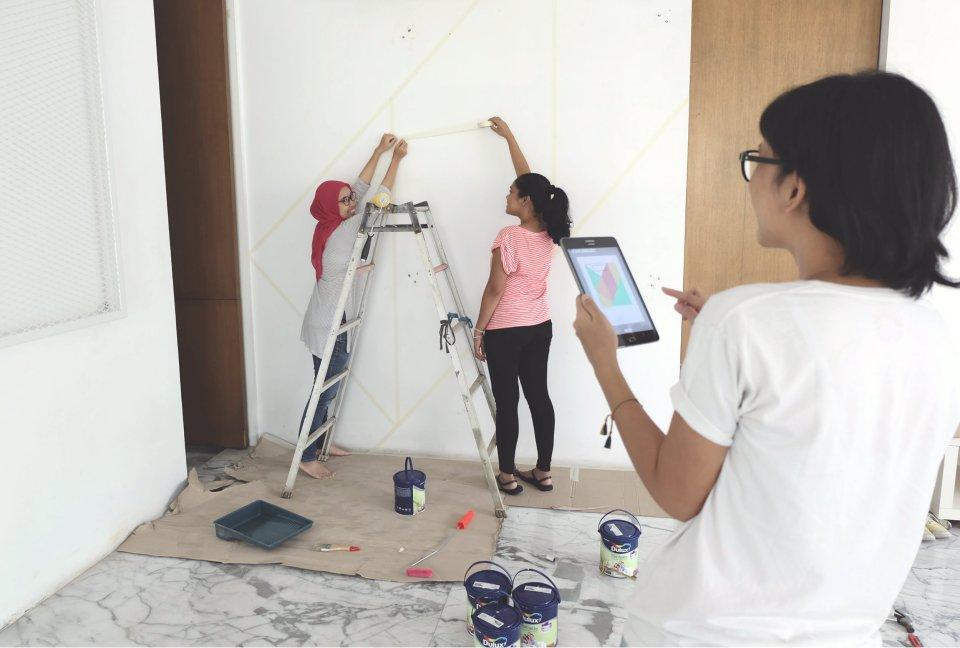 DIY-decor-color-block-wall-living-loving-2