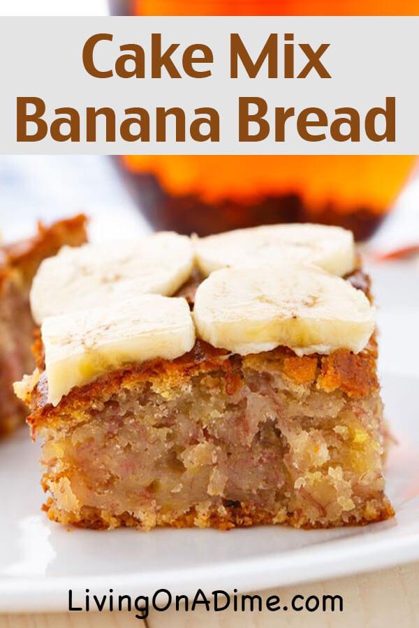 Easy Banana Cake Recipe Kids