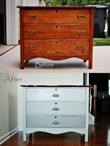 Guest Room Dresser Refurbished