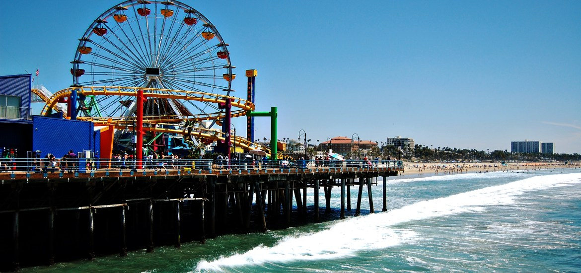 Living on Saltwater - Travels to California - Santa Monica