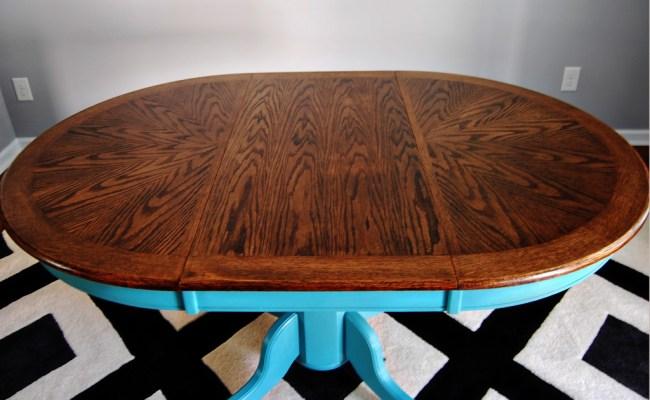 Living on Saltwater - Kitchen Table Refurbish - Chalk Paint - Provence