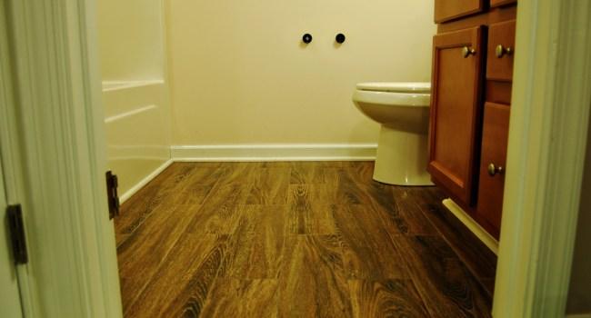 Living on Saltwater - Guest Bathroom Tiling - After