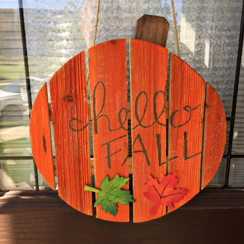 Living on Saltwater - Fall Decorations