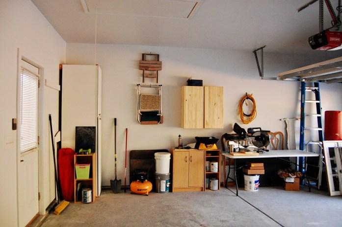 Living on Saltwater - Garage After