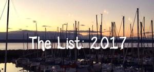 The List: 2017