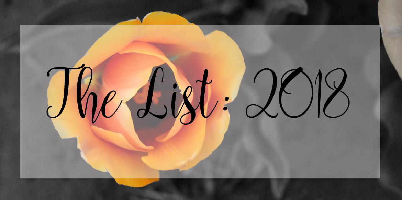 The List: 2018
