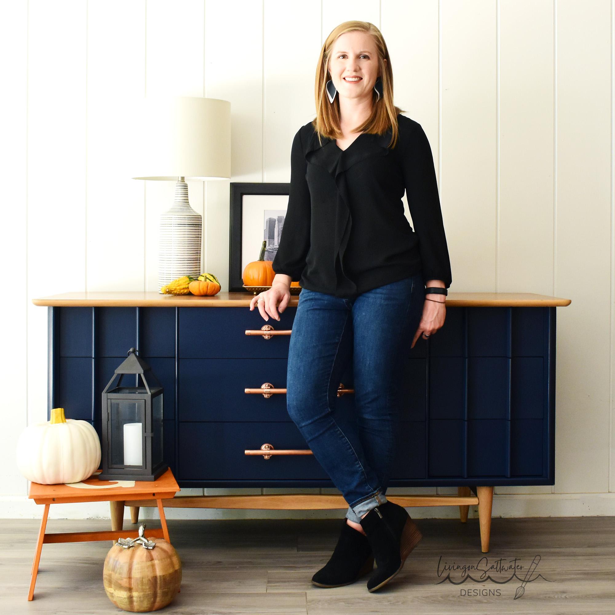 Meet Caroline, the woman behind LivingonSaltwater Designs