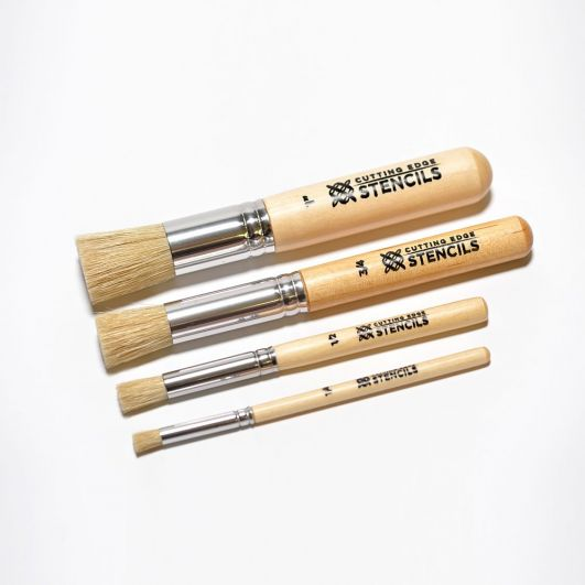 Professional Stencil Brush Kit