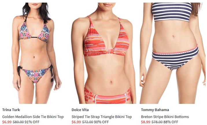 nordstrom rack bikinis shop clothing shoes online