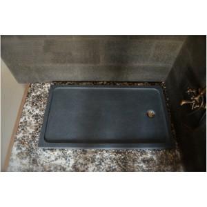 receveur de douche pierre 140x90 granit veritable spacium