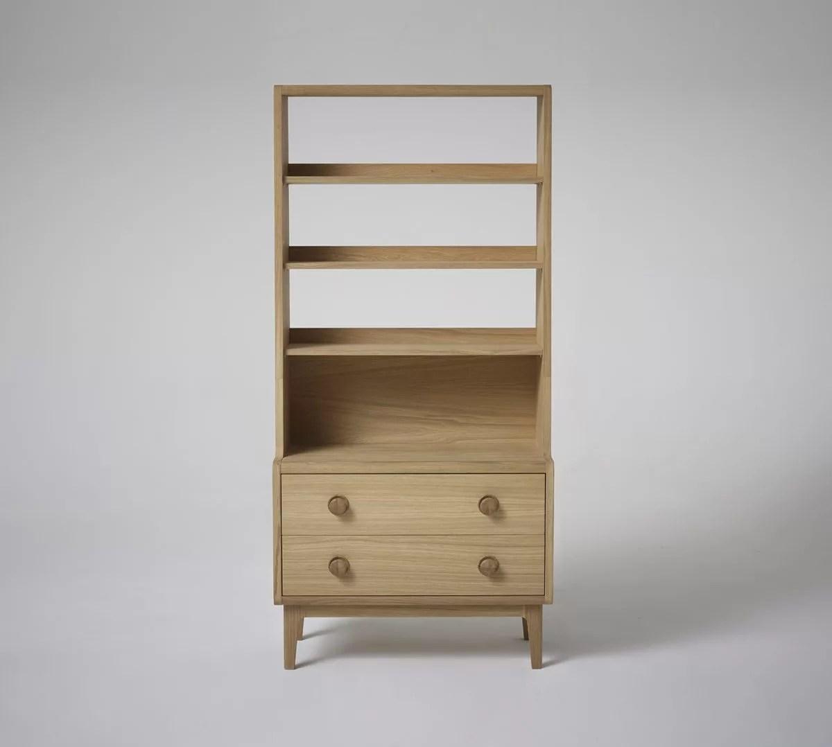 Collection 1 Contemporary Oak Bookcase