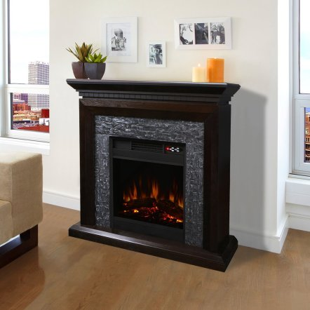 XtremepowerUS Large Room Grand 3D Flame Electric Fireplace