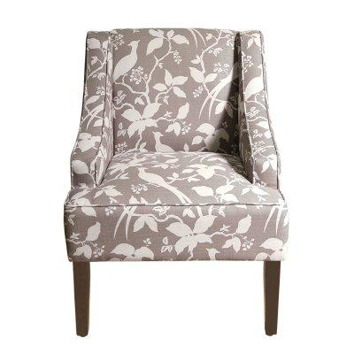 Kinfine Swoop Arm Accent Chair