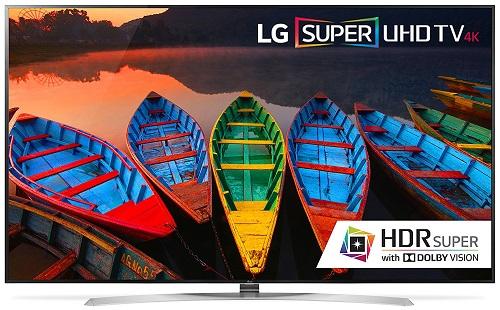 LG Electronics 65UH9500 65-Inch 4K Ultra HD Smart LED TV (2016 Model)