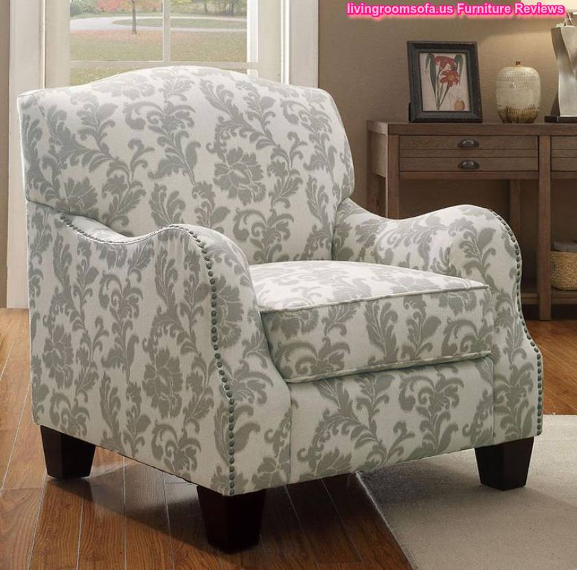 Patterned Accent Chairs Arms