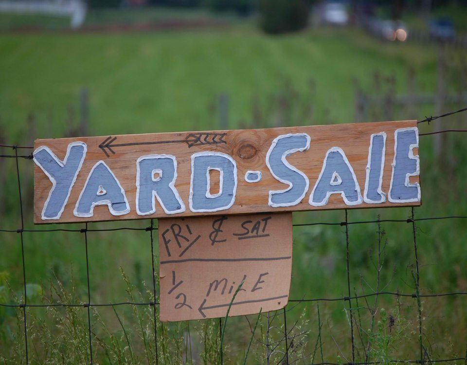 Will Yard Sales Be Illegal?