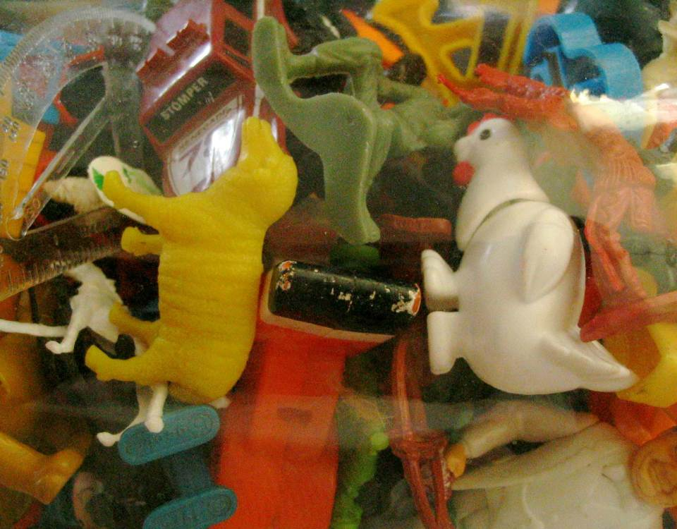 Toys and clutter and stuff... oh my!