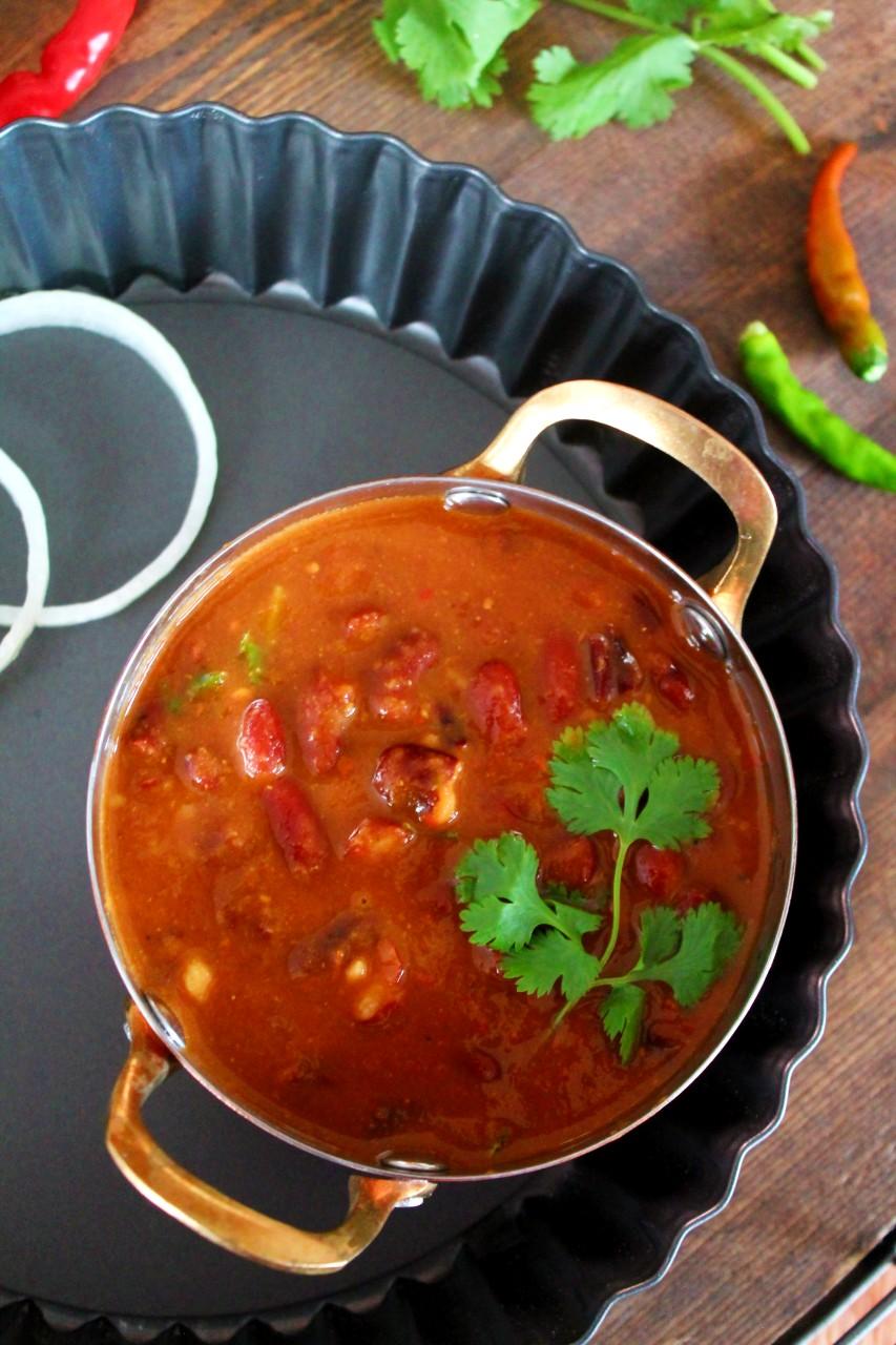 Rajma Masala / Kidney Beans Curry – Instant Pot, Pressure Cooker